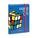 Dohe Rubik Color - Carpeta recambio de anillas, 25 mm, color azul