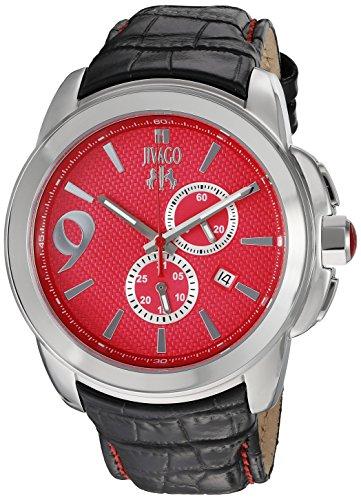 Jivago Men's 'Gliese' Swiss Quartz Stainless Steel Casual Watch (Model: JV1519)