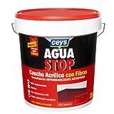 Ceys - Aquastop Caucho Acrilico Fibra 20K. Rojo
