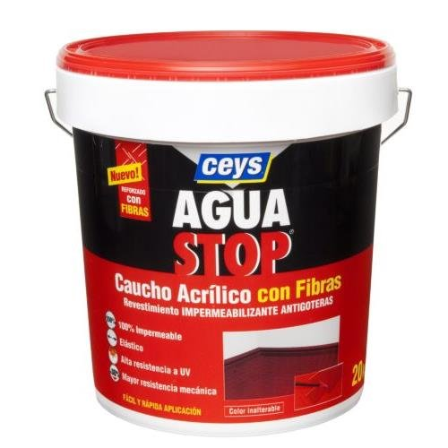 ceys-aquastop-gomma-acrilico-fibra-20-k-rosso