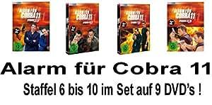 Alarm für Cobra 11 - Staffel 6 - 10 im Set - Deutsche Originalware [9 DVDs]
