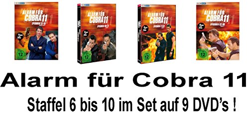 Staffel 6-10 (9 DVDs)