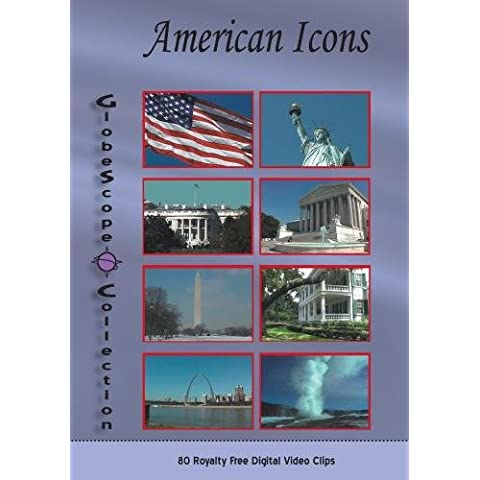 The Globescope Collection-Royalty Free Video Clips American Icons