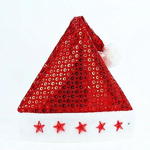 FEI&S adulto Christmas Santa Hat regalo di Natale Natale Hat