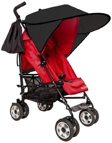 *Sunnybaby 11240 Sonnendach für Sportwagen, Buggys und Kinderwagen, Flexi-XXL, schwarz*