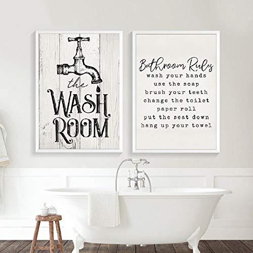 cuadros de cuarto de baño -