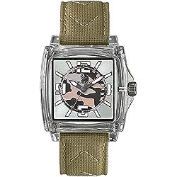 Laurens Unisex-Armbanduhr Analog Quarz Beige 025828AA
