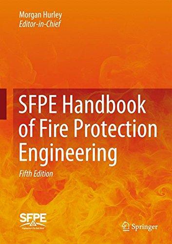 SFPE Handbook of Fire Protection Engineering (3 Vol Set) (Home-chemie-set)