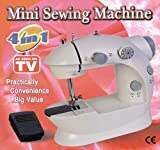 Ming Hui Shopping Redefined Mini Sewing Machine 4in1 Sm-201 With Foot Pedal Bobbin And Adapter