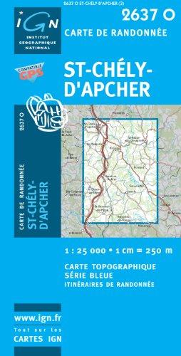 St-Chely-d'Apcher GPS par IGN