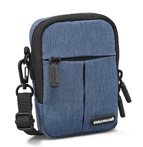 """Cullmann Malaga Kompakt \""""200\"""" Kameratasche für Kompaktkamera, 7 x 10 x 3 cm Blau"""
