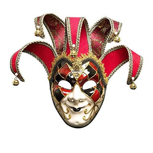Machen Ihre Eigene Kostüm Sie Zombie - Bearn Halloween-Handgemachte Gemalte Ball-Party-Maske Venedig männer Cosplay Zeigen Maske