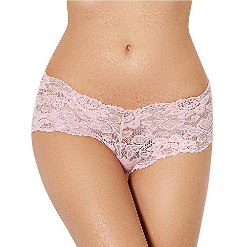 Lace Low Rise Thongs für Frauen & Teen Mädchen, RainRR Womens Unterwäsche Tangas Bikini Höschen Sexy Dessous , Rose - XXXX-Large (Tangas Panky Hanky Baumwolle)