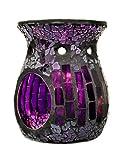 Duftlampe Mosaik lila