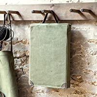 Tutti Decor Waterproof Khaki Canvas Garden Kneeler with Handles Durable and Strong 40 x 26cm Gardeners Gift