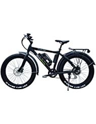 Bikeasy Fat E-Bike Dickschiff, Elektrofahrrad, 26 Zoll