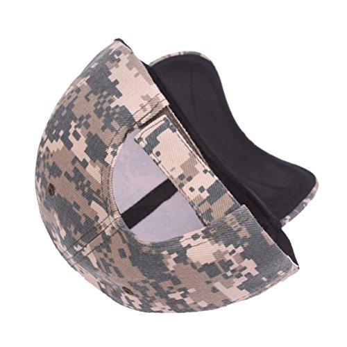 Imagen de winomo casquette ultrakey armée camouflage militaire bonnet baseball casquette baseball camouflage chapeaux pour la chasse pêche activités de plein air camouflage vert  alternativa