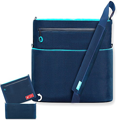 Preisvergleich Produktbild KALAR® hochwertige Babytasche Set Sky Blue Tragetasche Schultertasche