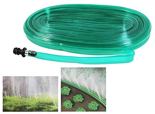 Alma Garden 2er Set Sprühschlauch zur gezielten Bewässerung - Schlauchregner - je 15m