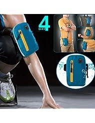 Bazaar Sacs de bras aonijie pour sac sports de plein air téléphone portable clé de porte-monnaie avec sangle d'épaule de bras