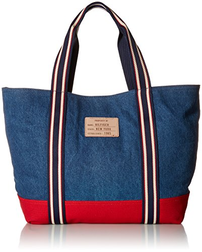 Tommy Hilfiger womens Tote Bag for Women Canvas Item Tote Tote Bag for Women Canvas Item Tote