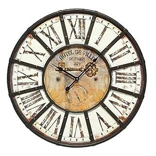 Ambiente Haus Wall Clock, Brown