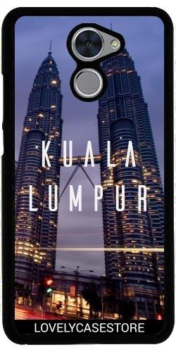 Lovelycasestore Funda Carcasa Cover para Huawei Y7 Prime - Kuala Lumpur -...