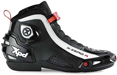 XPD X-Zero R Motorradstiefel 40 Schwarz/Weiß