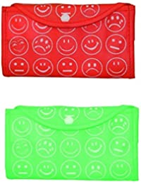 Eco-Friendly Multicolor Reusable Daily Use Shopping Bag - Set Of 2