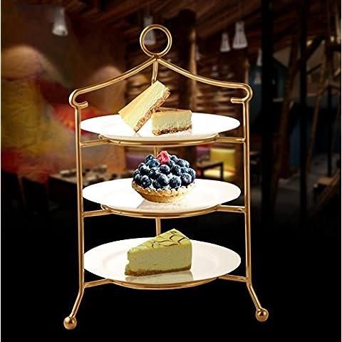 In acciaio inox uccelli gabbie Dim sum dessert frutta dessert vino ristorante pasticceria , 2