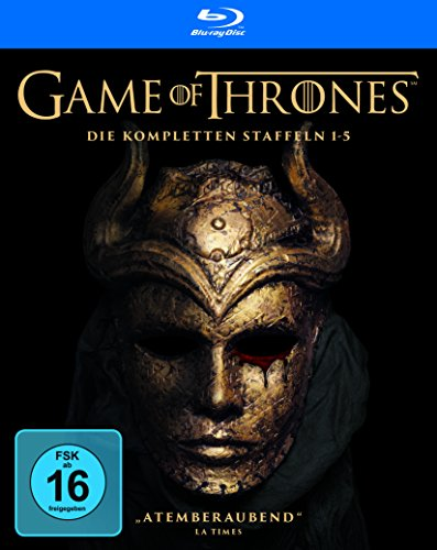Staffel 1-5  (Limited Edition mit Bonusdisc) [Blu-ray]