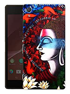 "Humor Gang Buddha Art Printed Designer Mobile Back Cover For ""HTC DESIRE 828"" (3D, Matte Finish, Premium Quality, Protective Snap On Slim Hard Phone Case, Multi Color)"