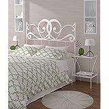 HOGARES CON ESTILO - Cabecero de Forja nacional modelo VENECIA para una cama de 135 cms. (Varios colores y medidas disponibles).