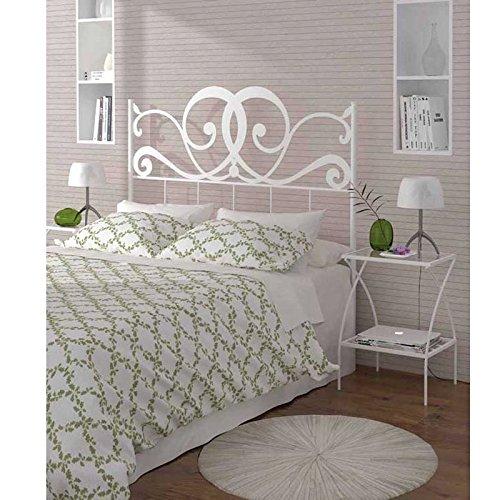 HOGARES CON ESTILO - Cabecero de Forja nacional modelo VENECIA para una cama de 150 cms. (Varios colores y medidas disponibles).