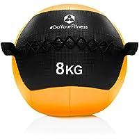 #DoYourFitness® Wall-Ball/Gewichtsball ab 2kg bis 10kg - Medizinball mit griffiger Oberfläche ideal für Ausdauertraining, Crossfit, Functional-Training, Kraftraining & Core-Stabilität Adria