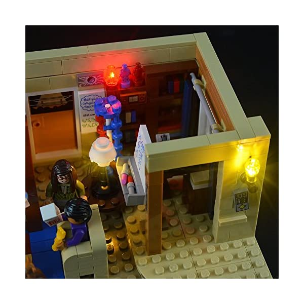 LIGHTAILING Set di Luci per (Ideas The Big Bang Theory) Modello da Costruire - Kit Luce LED Compatibile con Lego 21302… 4 spesavip