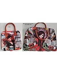 JBRD HAND BEGS FOR GIRLS PRINTED HAND BEG DESIGN Women's Assorted Digital Print Hand Bag