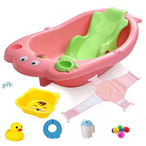 Elegant Baby Bad Kind Newborn Badeeimer Kann Liegen Große Kind Shampoo Stuhl,C (Baby-bad-spielzeug Elegante)