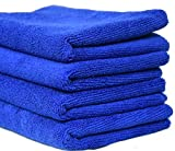 SOBBY Microfibre Cleaning Cloth Set of 4...