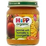 Hipp Penne Organique Avec Tomates Et Courgettes 6 + Mois 125G - Lot De 2