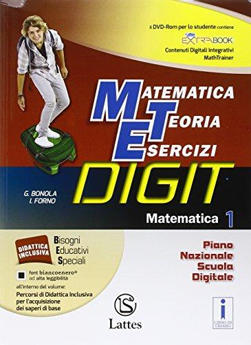 Matematica teoria esercizi digit. Matematica. Tavole-Mi preparo-Quaderno competenze e operativo. Per la Scuola media. Con DVD-ROM. Con e-book. Con espansione online: 1