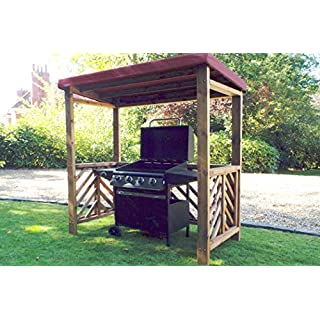 Home Gift Garden BBQ Shelter - Wooden BBQ Shelters
