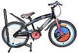 Exel-Hot-Wheels-EB20SSHWKDBU-Kids-Bicycle,-S-20-Inches-(Black)