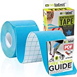Pre Cut Kinesiology Tape - Pre-Cut Sport Tapes Strapping For Muscle Sports Support | Pro 5m Medical...