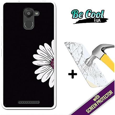 Becool® Fun - Funda Gel Flexible para Bq Aquaris U Plus, [ +1 Protector Cristal Vidrio Templado ] Carcasa TPU fabricada con la mejor Silicona, protege y se adapta a la perfección a tu Smartphone y con nuestro exclusivo diseño.