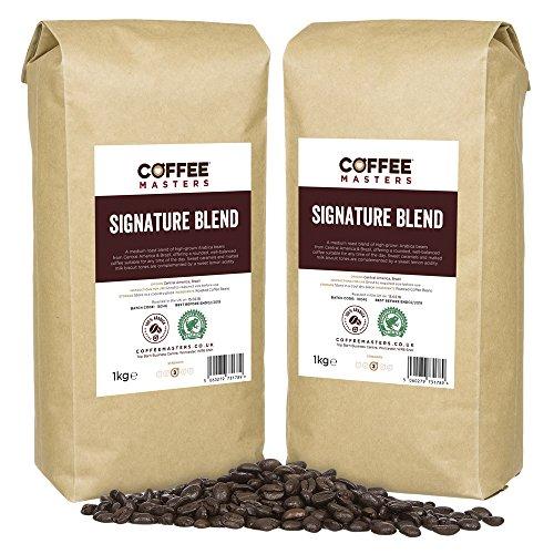 Coffee Masters Signature Mezcla de Granos de Café 4x1kg