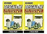 Kilrock Descalene Entkalker für Waschmaschinen & Geschirrspüler, 2 Packungen