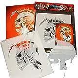 SCHNEIDMEISTER Airbrush Schablone Indian Skull, Custom Stencil, ca. A4, HB-SM06