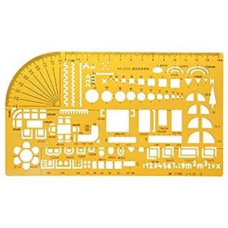 Wanfor Hot Professional Universal Möbel Bau Architekt Vorlage Herrscher 1: 100, Schule Produkt Werkzeug