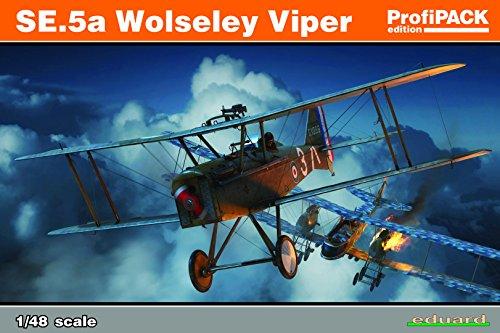 "Eduard Plastic Kits 82131 - Modellbausatz ""SE.5a Wolseley Viper Profipack"""
